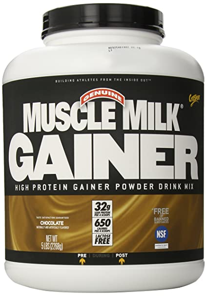 Cytosport Muscle Milk Gainer 32g Protein laktosefrei-Chocolate Milk