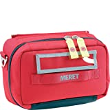 MERET Airway Pro Intubation Tri-Fold Module (Red) (Color: Red, Tamaño: One Size)