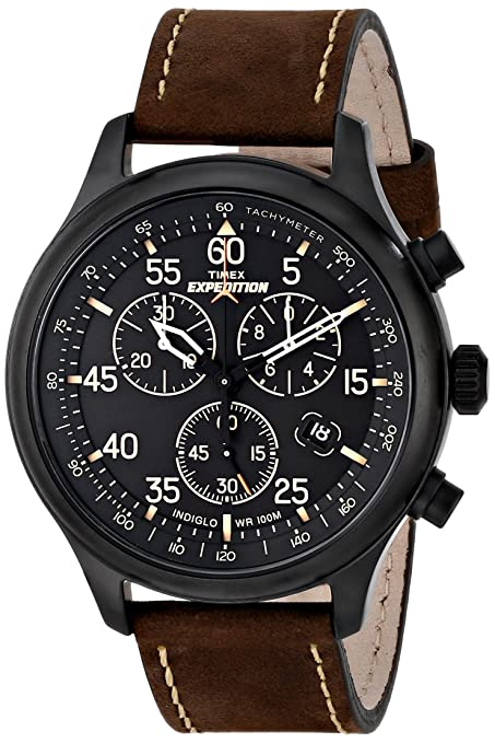 Timex-Men-s-T49905-Expedition-Rugged-Field-Watch-with-Brown-Leather-Band