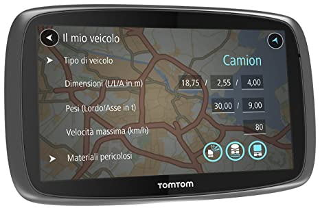 TomTom 1FL6.002.08 GPS Noir