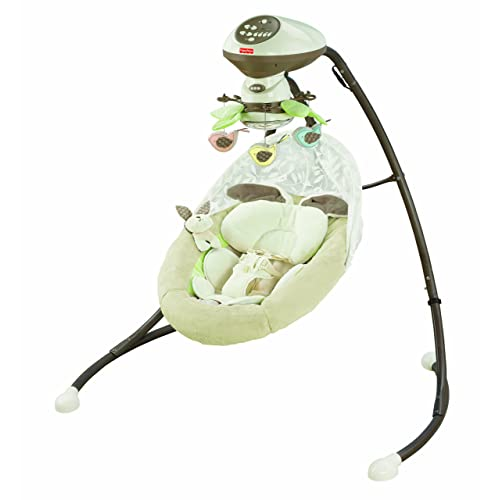 "Fisher-Price Snugabunny Cradle N Swing (With Smart Swing Technology) Baby Swing"" /></span><span style="