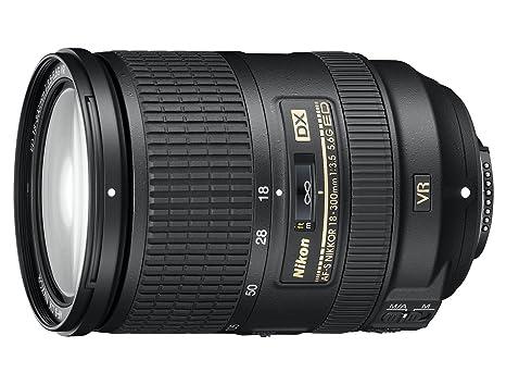 Nikon Nikkor AF-S DX Objectif 18-300 mm f/3.5-5.6G ED VR Noir
