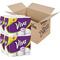 VIVA Choose-A-Sheet Paper Towels, White, Big Plus Roll, 24 Rolls