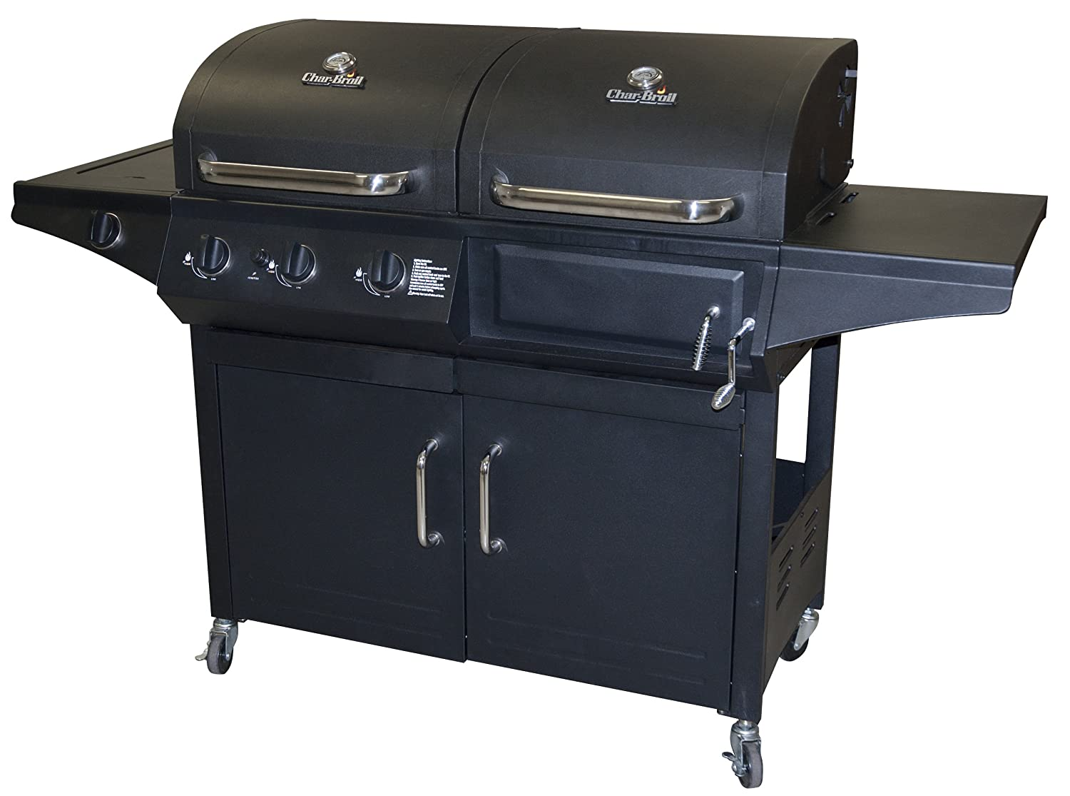 sears char broil combination charcoal gas. Black Bedroom Furniture Sets. Home Design Ideas