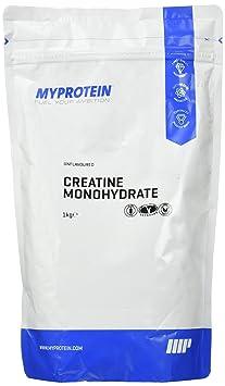 Myprotein Creatine Monohydrate Unflavoured Doppelpack, 1er Pack (1 x 2 kg)