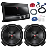 Car Sub And Amp Combo: 2x Kenwood KFC-W3016PS 2000 Watt 12