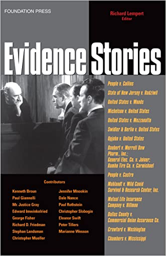 Evidence Stories (Law Stories)