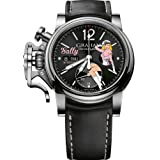 Graham Watch Chronofighter Vintage Nose Art WWII Pin Up Girl Sally Limited Edition
