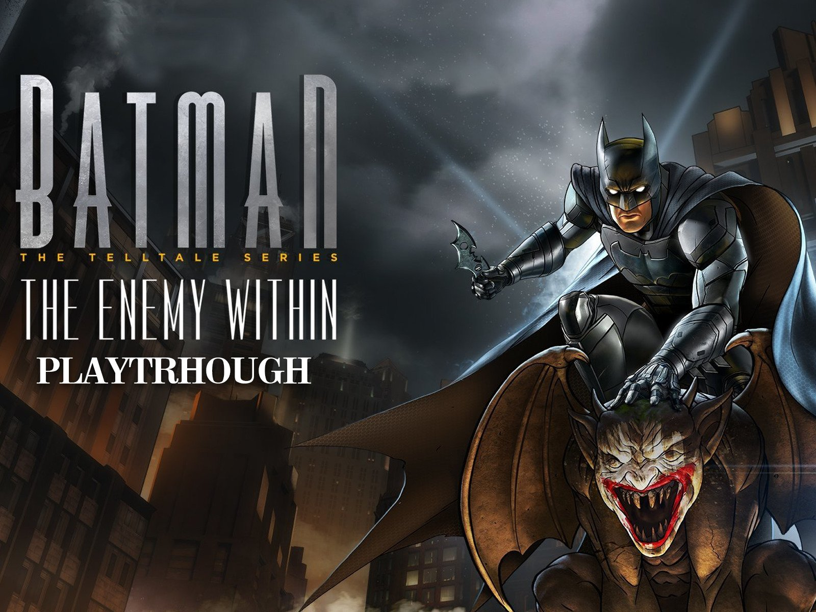 Clip: Batman The Telltale series The Enemy Within Playthrough on Amazon Prime Video UK