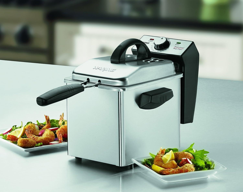 Mini Stainless-Steel Deep Fryer