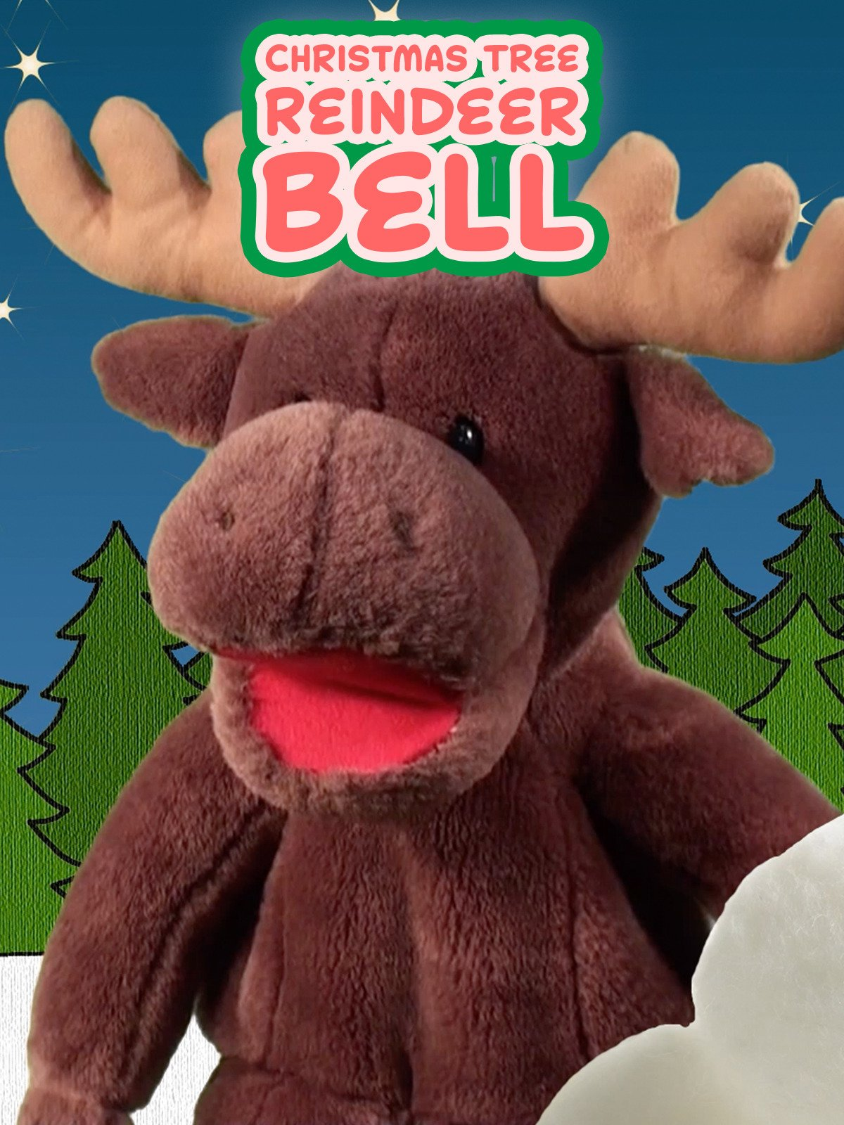 Christmas Tree, Reindeer, Bell