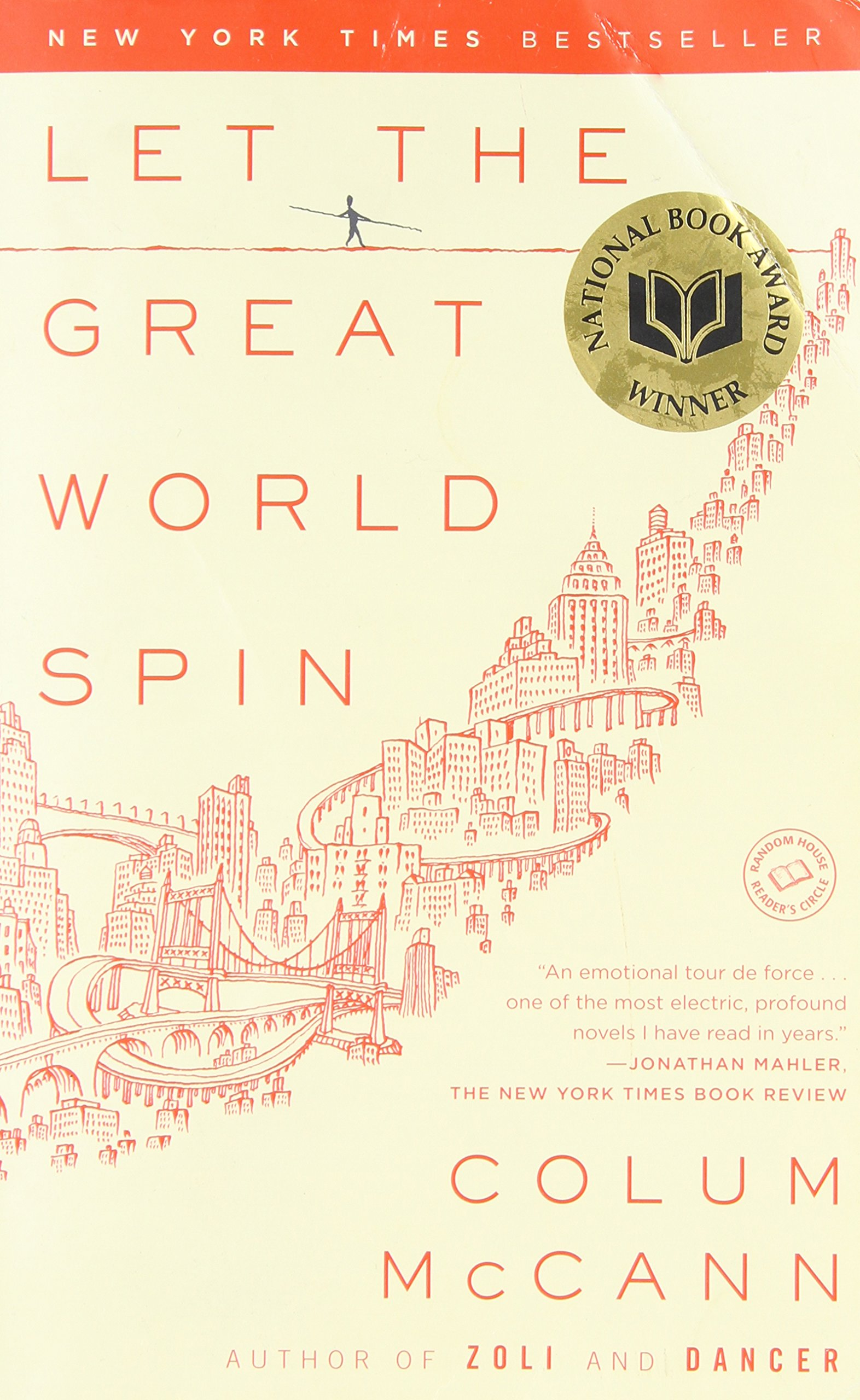 Let the Great World Spin ISBN-13 9780812973990