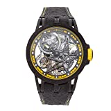 Roger Dubuis Excalibur Mechanical (Automatic) Skeletonized Dial Mens Watch DBEX0616 (Certified Pre-Owned) (Color: black)