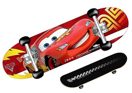 STAMP - DISNEY - CARS - J892310 - Vélo et Véhicule pour Enfant - Skateboard Cars 2 - 28*8