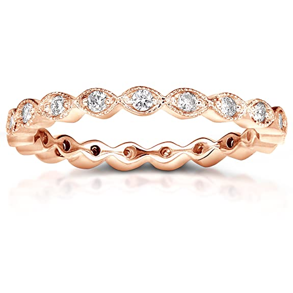Diamond Eternity Band 1/3 CTW in 18k Rose Gold