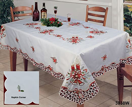 Christmas Holiday Table Linens & Christmas Table Linen Set - Castrophotos