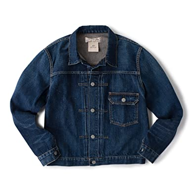 Remi Relief Denim 1st Jacket: Blue