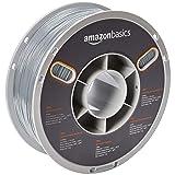 AmazonBasics TPU 3D Printer Filament, 1.75mm, Gray 1 kg Spool (Color: Gray, Tamaño: 1.75mm)