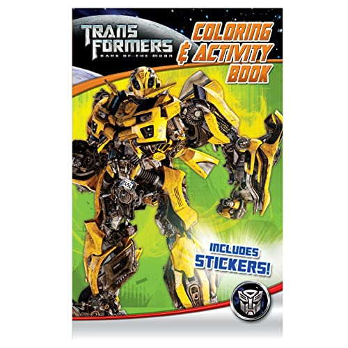 Transformers 3 Coloring and Activity Book with Crayons