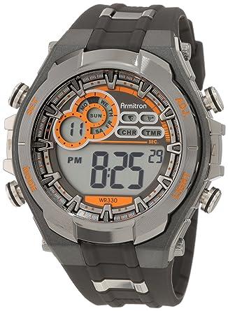 buy armitron men s black resin digital watch 408188gmg online at armitron men s black resin digital watch 408188gmg