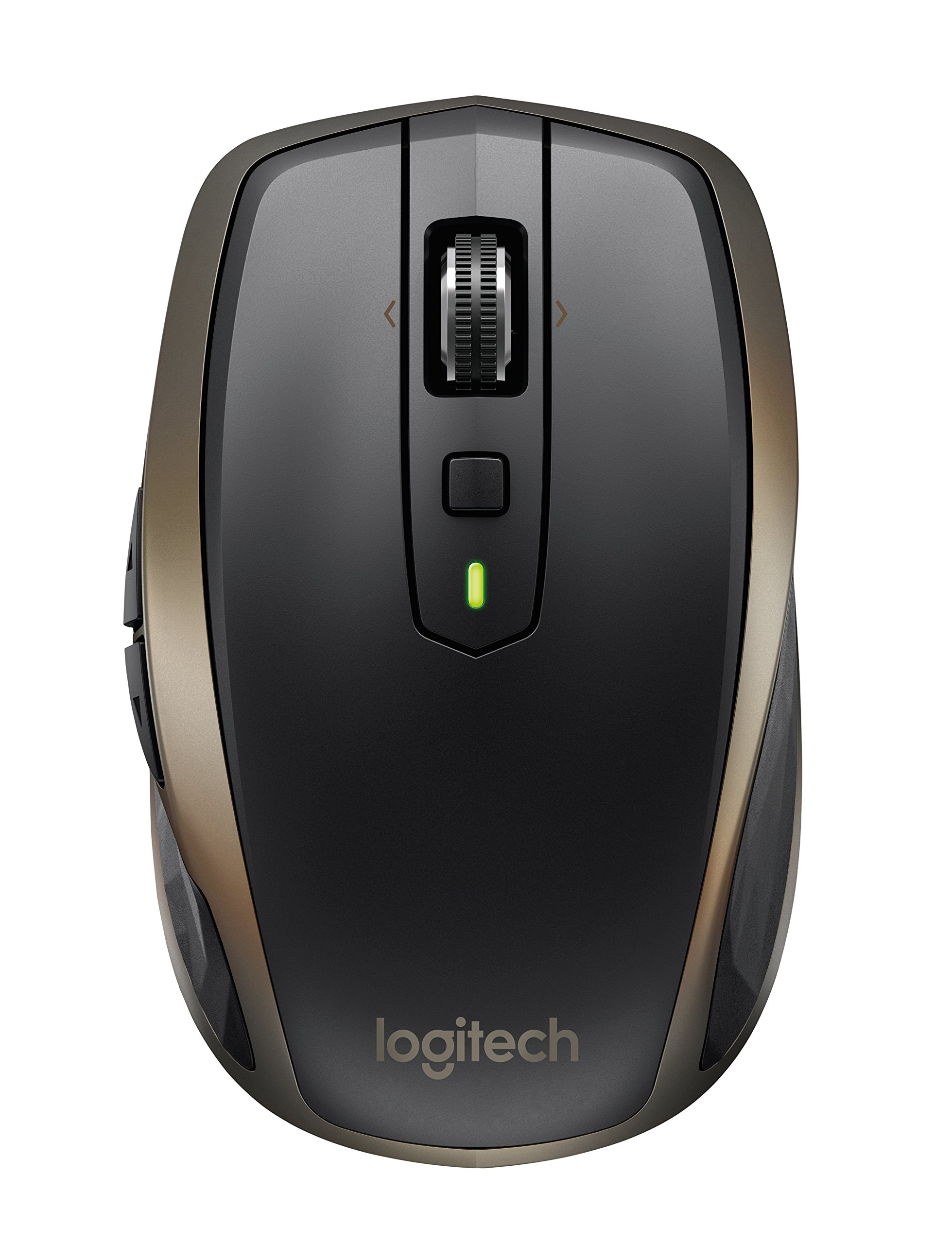 로지텍 MX 애니웨어 2 무선 마우스 Logitech MX Anywhere 2 Wireless Mouse – Use On Any Surface, Hyper-Fast Scrolling, Rechargeable, for Apple Mac or Microsoft Windows Computers and laptops, Meteorite