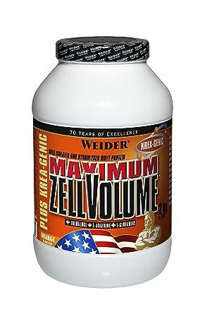 Weider Maximum Zell Volume  plus Krea-Genic Orange, 1er Pack (1 x 2.2 kg)