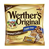 WERTHER'S ORIGINAL Sugar Free Caramel Coffee Hard Candy, Sugar Free Candy, Bulk Candy, Caramel Candy, Individually Wrapped Candy, Low Carb Candy, 2.75 Ounce Bags (Pack of 12) (Tamaño: 2.75 ounce (Pack of 12))