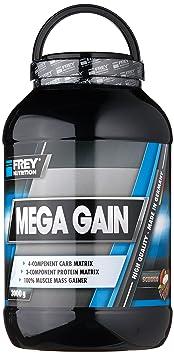 Frey Nutrition Mega Gain Schoko Dose, 1er Pack (1 x 3 kg)