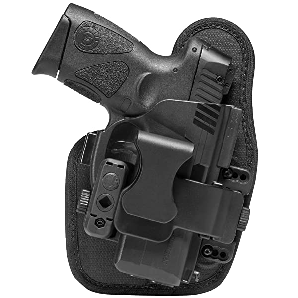 Alien Gear holsters SSAP0194RH Agh Ssap-0194-RH Shape Shift Appendix XDM 3.8 (Color: Black, Tamaño: Springfield XDM 3.8)