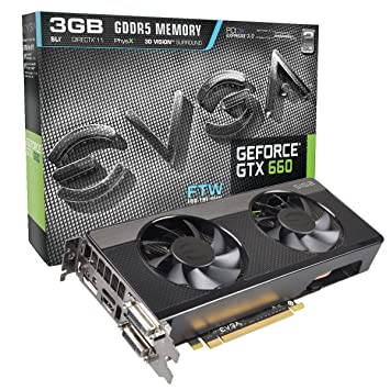 EVGA GeForce GTX 660 SIGNATURE2 3072MB GDDR5 DVI