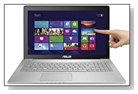 ASUS N550JK-DB74T 15.6 inch Full-HD Touchscreen Laptop Review