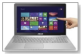 ASUS N550JK-DB74T 15.6 inch Full-HD Touchscreen Laptop Review
