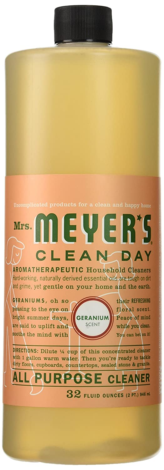 Amazon.com: Mrs. Meyer's Clean Day All Purpose Cleaner, Geranium ...