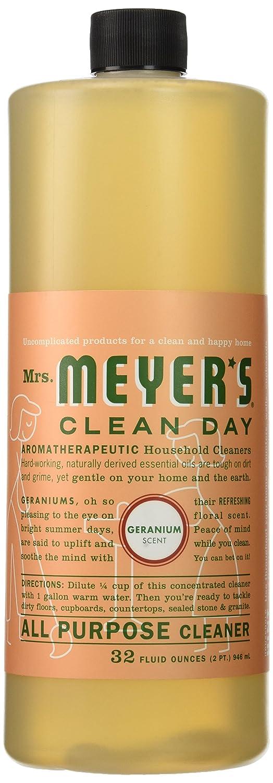 Amazon.com: Mrs. Meyer's Clean Day All Purpose Cleaner, Geranium ...