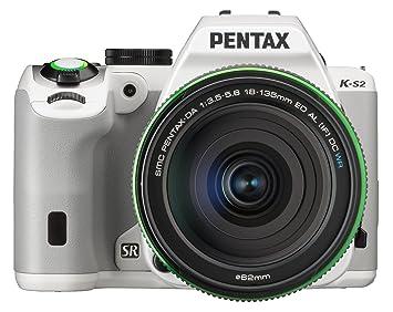 "Pentax K-S2 Appareil photo reflex numérique 3"" (7,62 cm) 20 Mpix Wi-Fi HDMI USB Blanc + Objectif 18-13 5mm WR"
