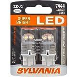 SYLVANIA ZEVO 7444 T20 White LED Bulb, (Contains 2 Bulbs) (Color: White)