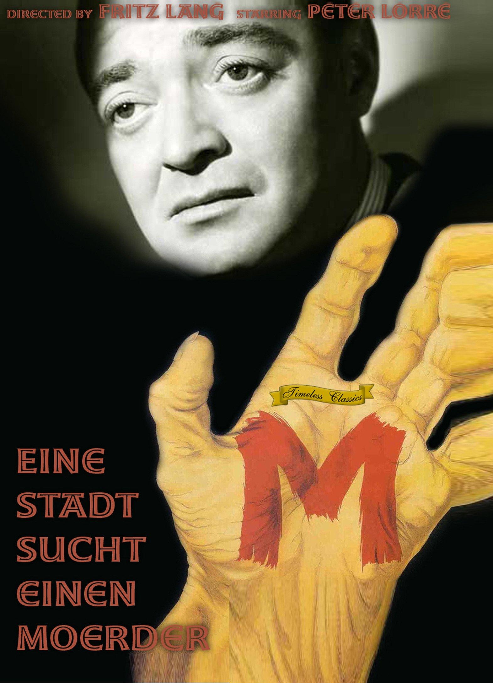 M/Eine Stadt Sucht Einen Moerder Starring Peter Lorre (1931)