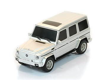 Jamara - 404016 - Maquette - Voiture - Mercedes G55 Amg - Argent - 3 Pièces