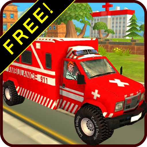 Ambulance Race & Rescue! FREE 3D Adventure Sim (Monster Inc Free compare prices)