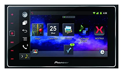 Pioneer SPH-DA120 Autoradio CD/DVD Noir