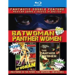 Batwoman & The Panther Women: Double Feature [Blu-ray]