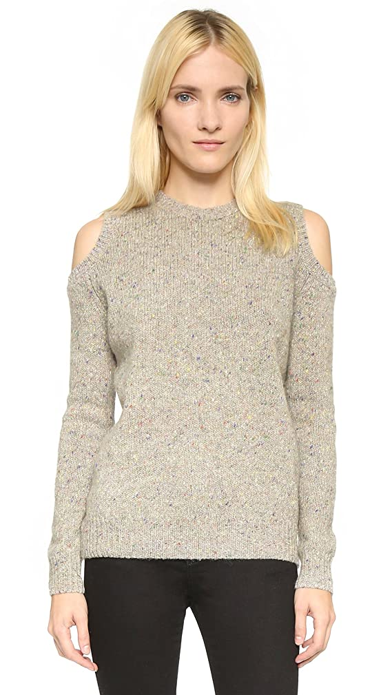 Rebecca Minkoff Women's Page Cold Shoulder Sweater