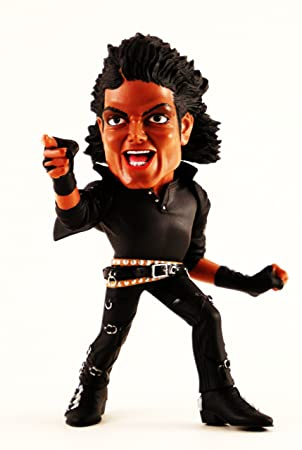 Surviving Dolls - Michael Jackson statuette Super Deformed BAD - 17 cm
