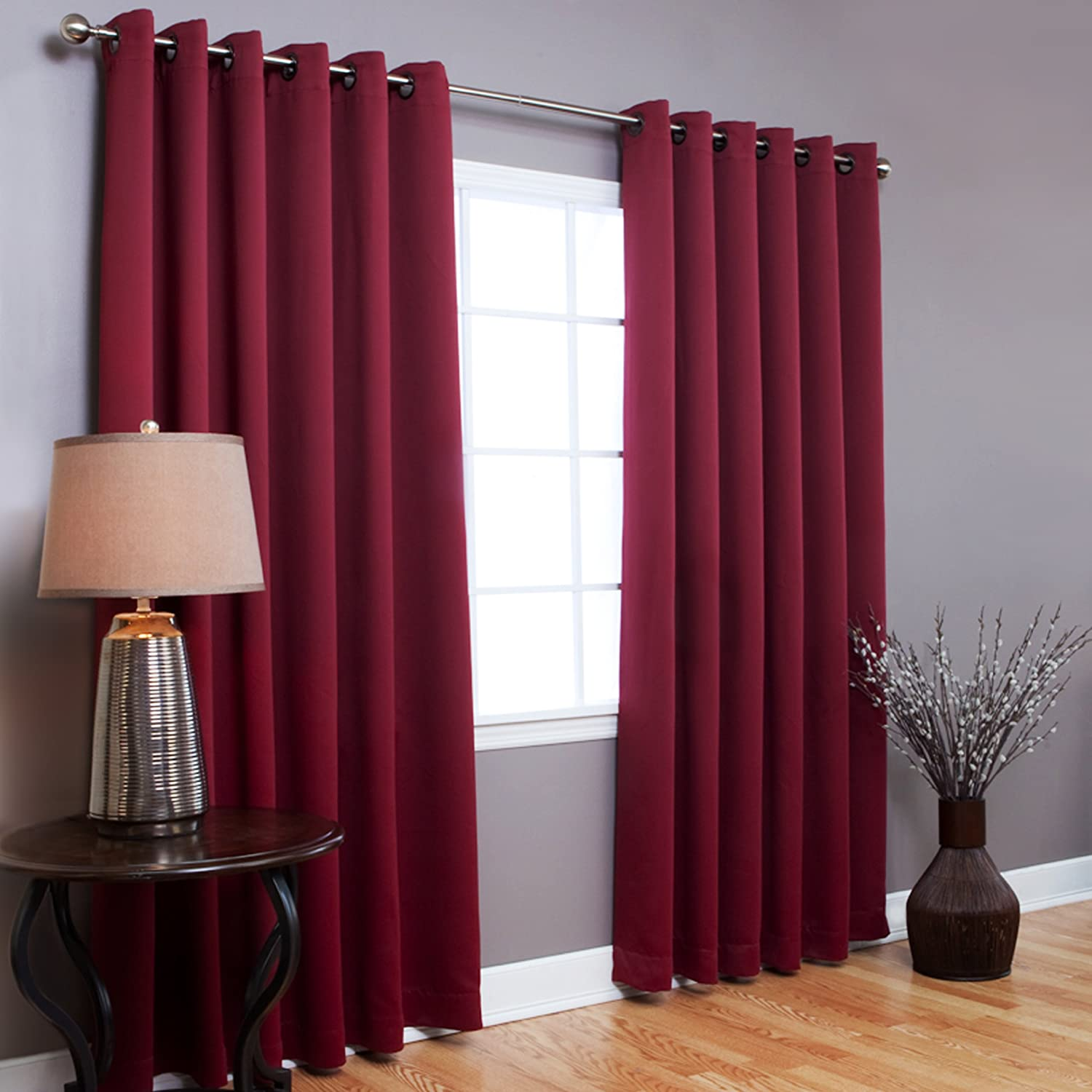 Curtain Ideas For Red Walls Decorate The House With Beautiful Curtains
