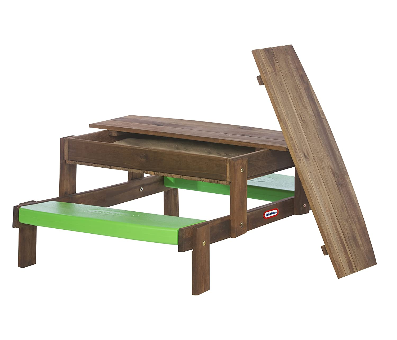 Little Tikes 172847E3 - Holz Sand- und Picknicktisch