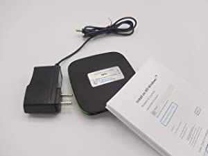 Network Print Server 2-Port WiFi Ethernet with Universal Driver for Win/Linux/Chromebook/Mac/iPhone/Android