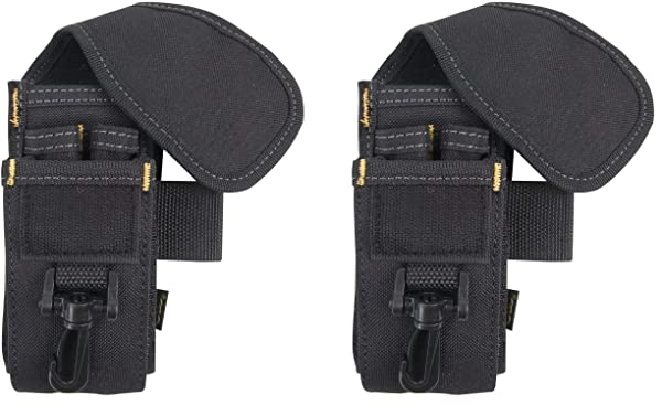 CLC Custom LeatherCraft 5-Pocket Cell Phone/Tool Holder - 1105 (?wo ?ack) (Color: Multicolored, Tamaño: ?wo ?ack)