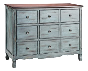 Painted Treasures 3 Drawer Moonstone Chest