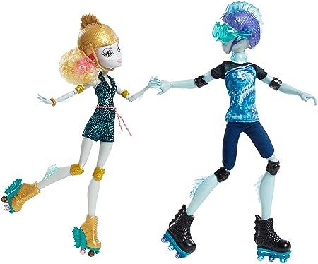 Monster High - Cjc47 - Poupée Mannequin - Coffret Duo Gil Et Lagoona