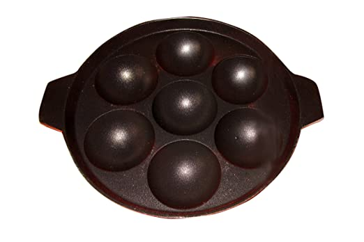 non stick appam patra available at amazon for rs170 - Patre Boules Colores